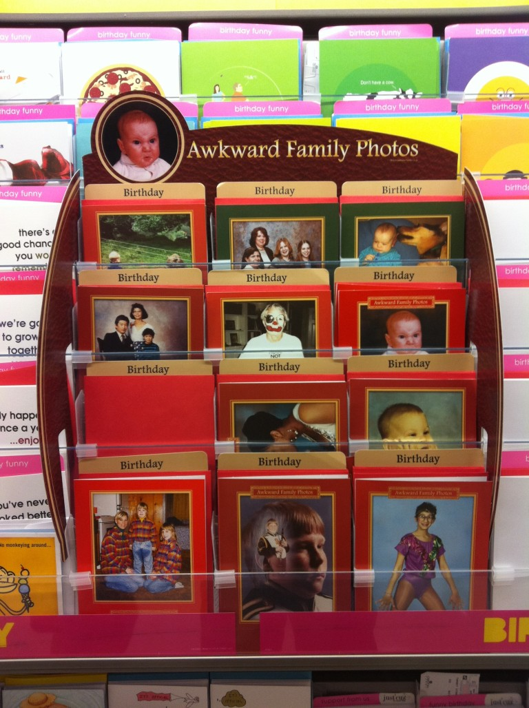 Awkward family photos greeting cards brooklyn imbecile i saw these awkward family photos greeting cards at a target in queens last week and thought they were hilarious ive seen the awkward photo series online m4hsunfo