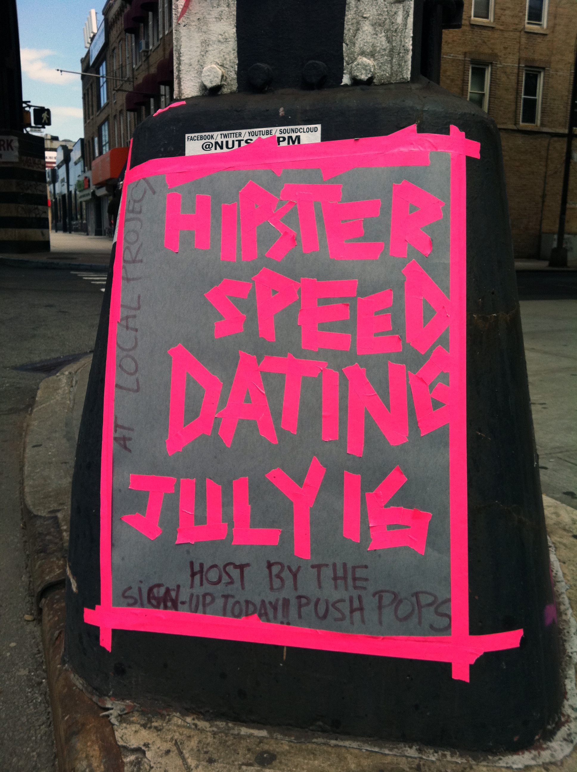 from Sonny hipster speed dating
